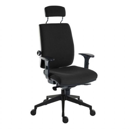 Techne 24 Hour Heavy Duty Fabric Office Chair 24 Stone